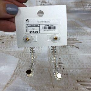 BaubleBar Jewelry - NWT Sugarfix Baublebar clear acrylic hoop earrings